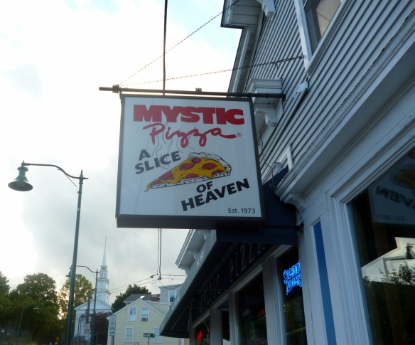 Mystic Pizza sign